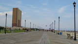 Fototapety Boardwalk at the beach at Asbury Park in New Jersey