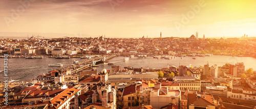Foto op Canvas Mediterraans Europa Istanbul the capital of Turkey, eastern tourist city.