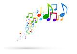 note, note musicali, pentagramma, musica - 117368582
