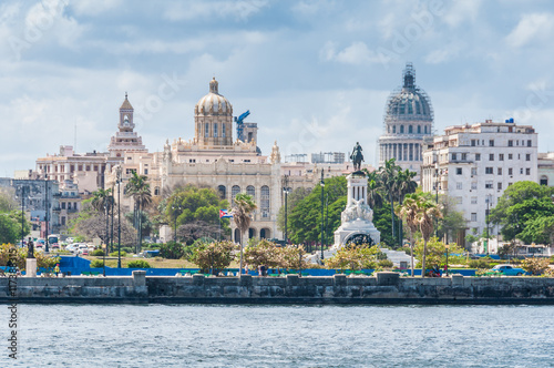 View of the city center in Havana, Cuba - 117388315