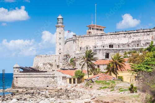 Morro Castle from close range, Havana, Cuba Poster
