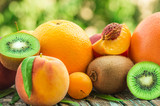 ripe fruit, close