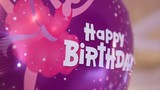 Birthday party baloon