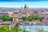 Panorama View on Budapest city from Fisherman Bastion. Hungary. - 117422571