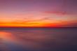 Dramatic sunset on the beach, Cape Cod, USA