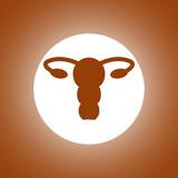 female uterus icon
