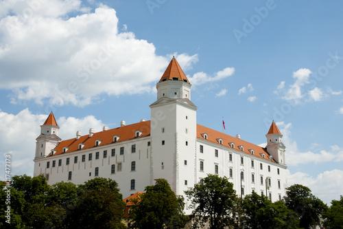 Poster Bratislava Castle - Slovakia