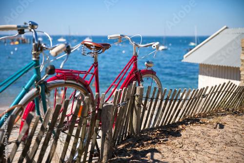 In de dag Fiets Vélo sur la côte de Noirmoutier