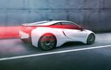 Futuristisches Auto