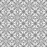Abstract ornamental geometric seamless pattern.