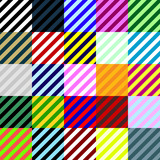Big collection of linear seamless patterns.