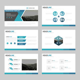 Business presentation templates, Infographic elements template flat design set for brochure flyer leaflet marketing advertising banner template