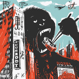 Big Gorilla destroys City - 117548977