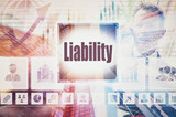 Business Liability collage concept