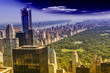 Aereal view of Central Park, NYC