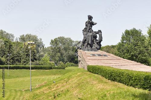 Foto op Plexiglas Kiev Monument to the murdered victims in Babyn Yar. Kiev, Ukraine.