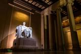 Abraham Lincoln Memorial at night  - 117601953