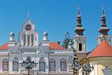 Orthodox bishop residence and serbian church in Timisoara, Roman - 117631303
