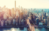 Aerial view of the New York City skyline - Fine Art prints