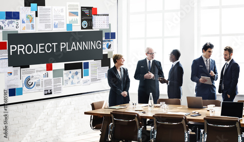 Project Planning Information Explaining Ideas Concept