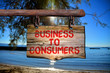 Business to consumers