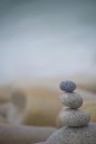 Harmony Background, Three Pebbles Stack.
