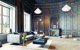 black living room - 117727301