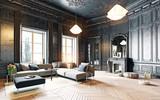 black living room - 117727302