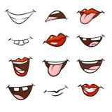 Cartoon mouths - 117731177