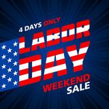 Labor Day Weekend Sale banner