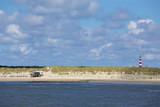 Leuchtturm Ameland mit Strand