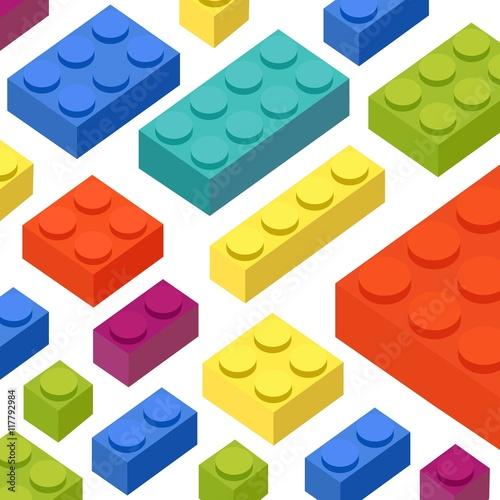 Colorful blocks background © Freepik