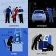 Burglar 2x2 Icons Set