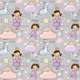 Cute fairytale pattern