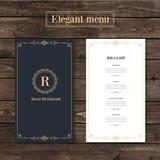 Classy menu restaurant template - 117820986