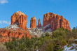Cathedral Rock Sedona Arizona in Winter