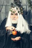 Zeus with apples