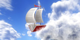 Sailing across the skies looking for the knowledge - 117884981