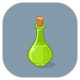 """Vector Magical Spell Bottle. 97243065,International law"""""""