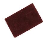bath rug isolated on white
