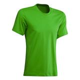 Green tshirt islated