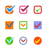 Check vote icon button