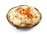 bowl of humus