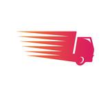 Modern Delivery Logo Symbol - Fast Logistic
