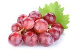 Fototapety Trauben Weintrauben rot Früchte Frucht Obst Freisteller freiges