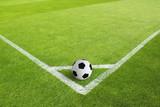 Fußballfeld ecke ball