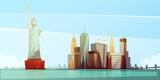 New York Skyline Design Concept - 118010157