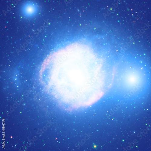 Fototapeta Milky Way stars.