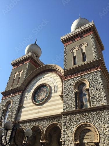 Sinagoga di Torino, Piemonte, Italia Poster