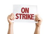 On Strike isolated on white